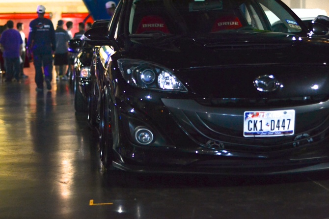 Roger's murdered Mazdaspeed 3